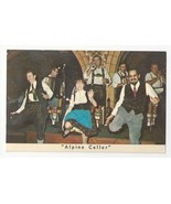 NY Mcalpin Hotel Alpine Cellar Restaurant Dancers Vintage New York City ... - $7.99