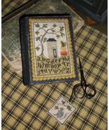 Autumn Sewing Stitch Book cross stitch chart Chessie & Me   - $10.80