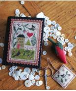 Berry House Stitch Book cross stitch chart Chessie & Me   - $10.80