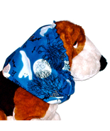 Dog Snood Boo Halloween Ghosts Cotton Basset Hound Spaniel Small CLEARANCE - $5.75