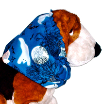 Dog Snood Boo Halloween Ghosts Cotton Basset Cocker Puppy REGULAR CLEARANCE - $5.25