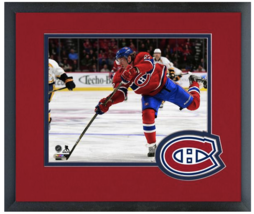 Dale Weise 2014-15 Montreal Canadiens-11 x 14 Team Logo Matted/Framed Photo - $42.95