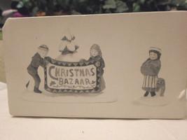 Department 56 Heritage Village - Christmas Bazaar Sign - 2 Pce - $19.98
