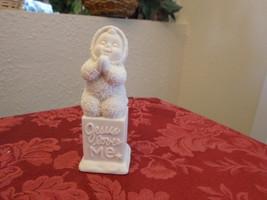 Department 56 Snowbabies Jesus Loves Me Figurine - Retired - $9.99