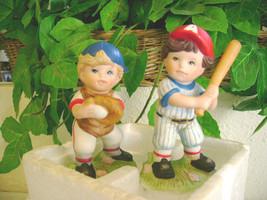 Set of 2 Baseball Player Figurines #1468 - $9.99