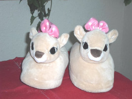 Rudolph the Red Nosed Reindeer Clarice Plush Slippers - Child Sz 2/3  - $9.99