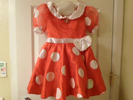 Disney Minnie Mouse Costume Dress Sz 4-6X - $19.99
