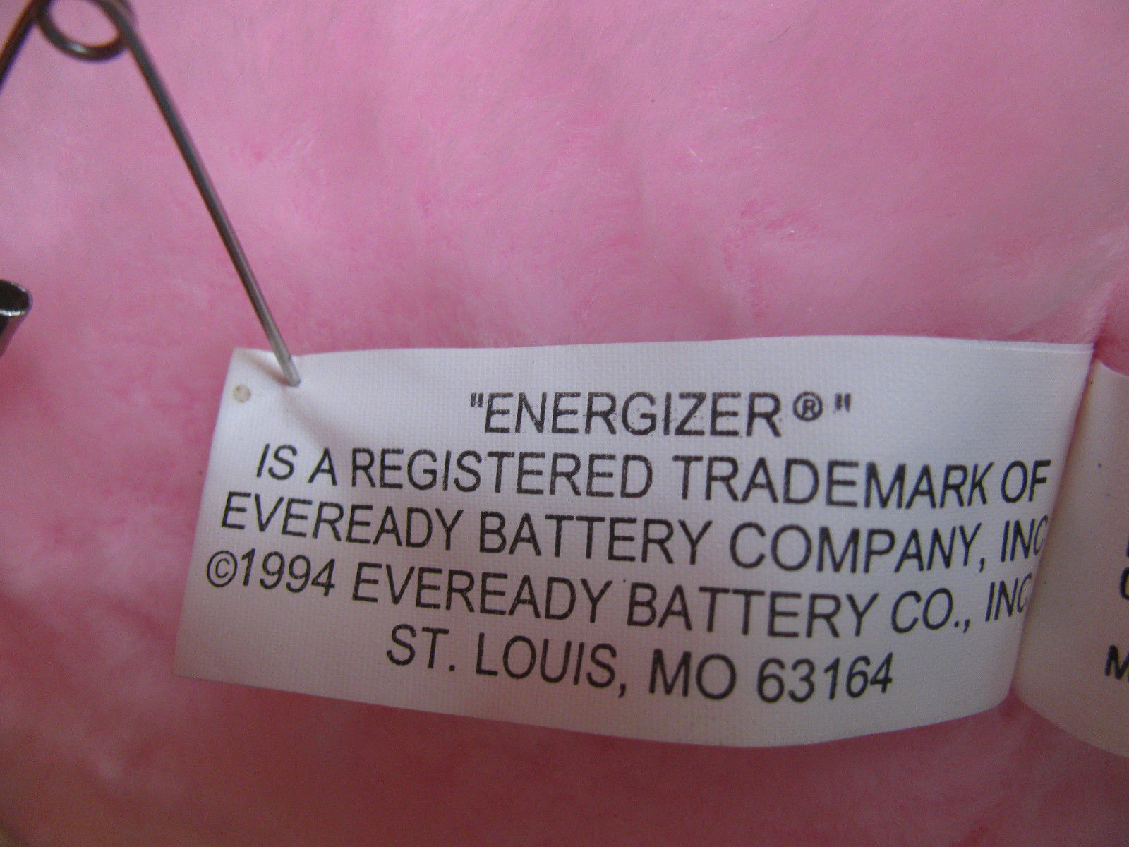 VINTAGE ENERGIZER BUNNY RABBIT-BATTERIES-DRUM-FLIP-FLOPS-SUNGLASSES-TVCOMMERCIAL