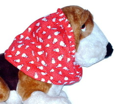 Dog Snood Christmas Snowmen Cotton Basset Cocker Puppy REGULAR CLEARANCE - $5.25