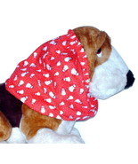 Dog Snood Christmas Snowmen Cotton Basset Cocker Puppy REGULAR CLEARANCE - $5.25