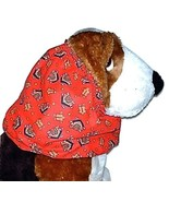 Dog Snood-Gingerbread Men Houses Cotton-Basset Hound-Springer-Small- CLE... - $5.75