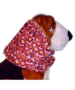 Dog Snood Pink Box of Chocolates Cotton Basset Cocker Puppy REGULAR CLEA... - $5.25