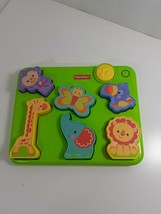Fisher Price Silly Sounds Puzzle Animals Musical Toddler Educational Lea... - $19.80