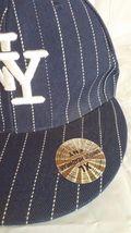 Mens Unique Headwear New York Yankees Striped Logo Baseball Hat XL TNT 59cm 73/8 image 3