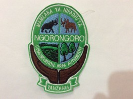 Patch Ngorongoro Conservation Area - Tanzania - Lion - Rhino - Bufalo - ... - $4.95