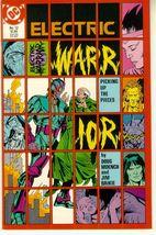 ELECTRIC WARRIOR #12 (DC Comics, 1986) NM! - $1.00