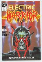 ELECTRIC WARRIOR #9 (DC Comics, 1986) NM! - $1.00