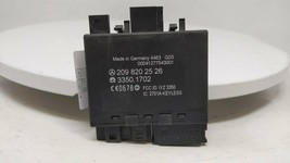 2003 Mercedes-benz Clk 500 Chassis Control Module 209 820 25 26 R10s12b19 - $33.75