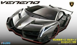 *Fujimi model 1/24 real sports car series No.94 with Lamborghini Veneno ... - $104.09