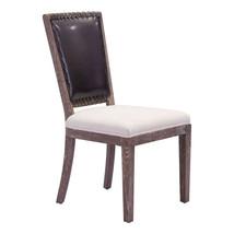 Zuo Market Dining Chair Brown & Beige - $420.99