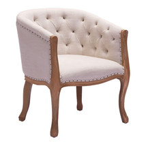 Zuo Shotwell Dining Chair Beige - €493,45 EUR