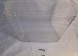 Longaberger Weekend Tote Basket Plastic Protector - $15.67