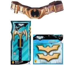 Batman - Accessory Set Adult Utility Belt Batarangs Grappling Hook Dark ... - $23.65