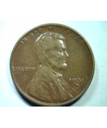 1931-D LINCOLN CENT PENNY EXTRA FINE / ABOUT UN... - $24.00