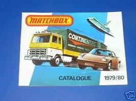 MATCHBOX 1979/80 COLLECTORS CATALOG - $5.00