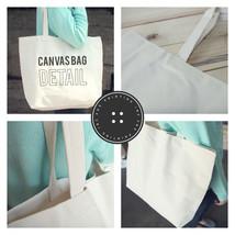 Mama's Stock Up Canvas Tote Bag - 100% Cotton Eco Bag, Shopping Bag, Book Bag image 2