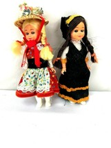 Vintage Lot of 2 International Collectible Dolls - $12.00