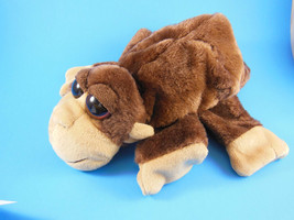 "Monkey Hand Puppet 10""  With Large Eyes Very Soft Caltoy - $8.31"
