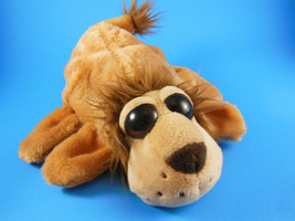 "Lion  Hand Puppet 10""  With Large Eyes Very Soft Caltoy - $8.31"