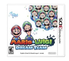 Mario and Luigi: Dream Team - $24.74