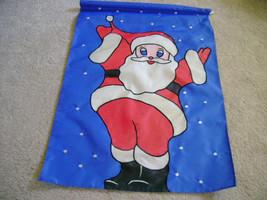 Christmas Santa Garden Flag - $19.99