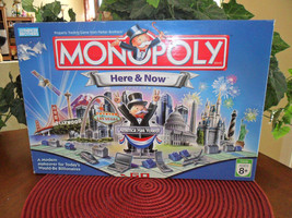 Parker Brothers Monopoly Here & Now - Excellent! - $14.99