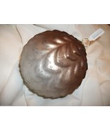ZODAX BROWN OMBRE GLASS BALL CHRISTMAS ORNAMENT - $11.00
