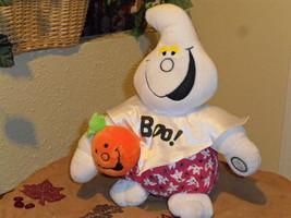 Halloween Shaking Light Up Haunted House Rock Plush Ghost Display Figure - $14.99