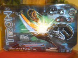 Disney TRON Legacy Light Cycle Pursuit Set - $29.99