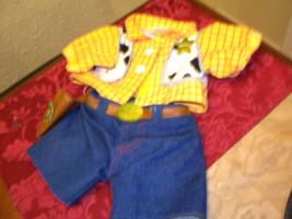 Build a Bear Disney Toy Story Woody Costume - 2 Piece - $14.99