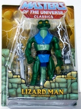 Mattel Masters Of The Universe Classics Lizard Man Cold Blooded Ally Figure - $64.95