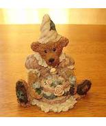 Boyds Bear 1993 Baileys Birthday Bearstone Figurine - $9.95