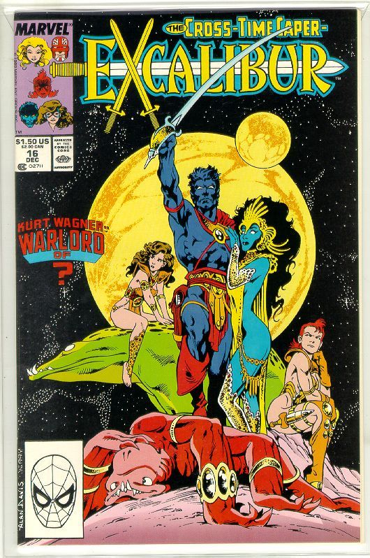 EXCALIBUR #16 (1988 Series) NM!