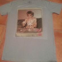 Bruce Lee DJ Dragon Gray T shirt gungfu scratch MMA Dragon Small Discontinued  - $34.99