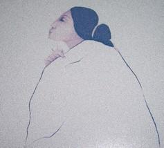 RARE R.C Gorman Native American Indian Woman Navajo Art Print - $100.00