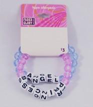 12 NEW SETS OF BEADED ANGEL & PRINCESS BRACELET... - $5.89