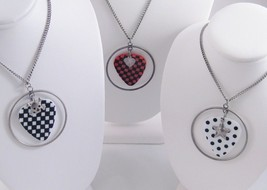 3 DIFFERENT BODY RAGE GUITAR PICK NECKLACES #N1020/1/2 - $3.99
