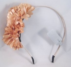 Beautiful New Peach Tan Flower Headband Nwt From Target #H2003 - €3,57 EUR