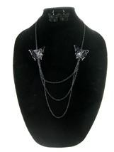 One Dozen New Wholesale Butterfly Necklace & Ea... - $6.35