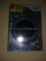 NEW Wii Who Wants To Be A Millionaire ?  Factory Sealed MIB Party Game U... - $10.88
